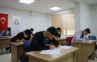 Gençler sınava Haliliye Belediyesi Kurslarında...