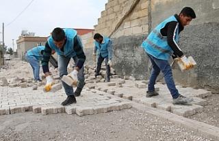 Haliliye'de 3 mahallede üst yapı çalışmaları...