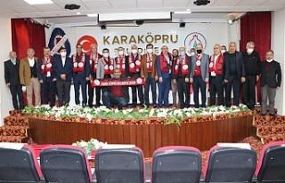 Karaköprü Belediyespor'da olağan kongre yapıldı