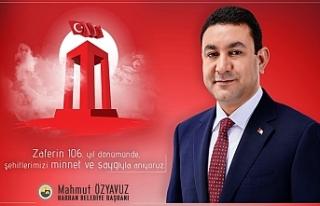 Özyavuz'dan anlamlı 18 Mart mesajı