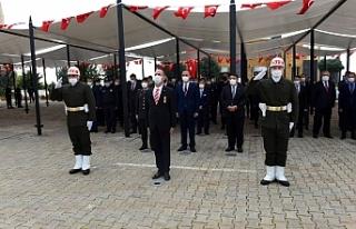 Şehitlik'te Anma töreni düzenlendi