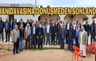Urfa'da husumetli aileler barıştı