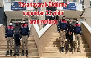 Urfa'da kovalamaca sonucu yakalandılar