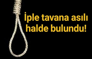 Urfa'da şok intihar!