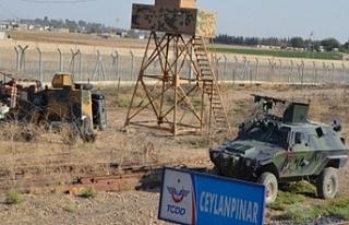 Urfa sınırında yakalandılar!