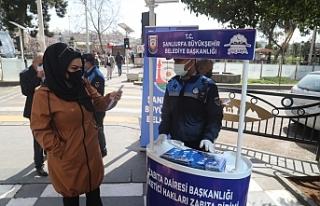 Urfa zabıtası 'Bilinçli Tüketici Ol'...