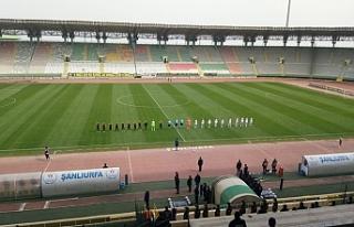 Maçın kazananı Şanlıurfaspor...
