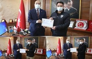 5 Milyonluk operasyona imza atan polisler ödüllendirildi