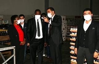 Büyükelçi ve Konsolos Urfa'ya özel olarak...