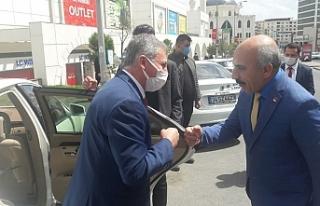 Gelecek Partisinden CHP'ye ziyaret