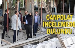 Göbeklitepe Kültürevi inşaatı hızla yükseliyor