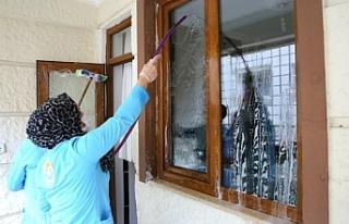 Haliliye'de 438 aileye bedava hizmet...