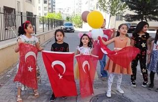 Şanlıurfa'da Çocuklar Dayanamadı