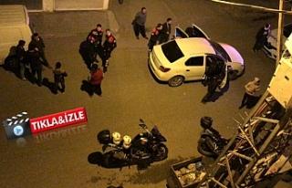 Urfa'da polisler havaya ateş ederek durdurdu