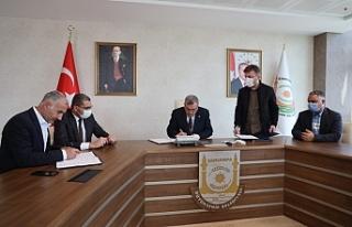 Urfa'da toplu iş sözleşmesinde imzalar atıldı