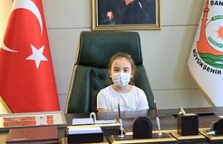Urfa'nın bugüne özel Başkanı Lara oldu