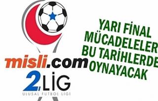 2. ligde play-off mücadeleleri sürüyor