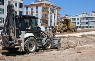 Haliliye Belediyesi hız kesmeden çalışıyor
