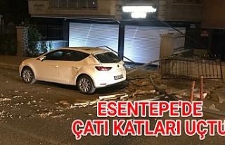 Urfa'da araçlar zarar gördü