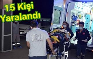Urfalı tarım işçilerini taşıyan minibüs kaza...