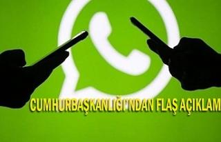 WhatsApp için son uyarı!