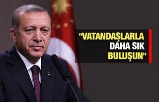 Erdoğan'dan Vekillere Önemli Mesaj