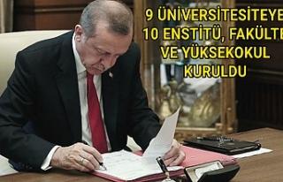 Erdoğan'ın imzaladığı karar resmi gazetede...