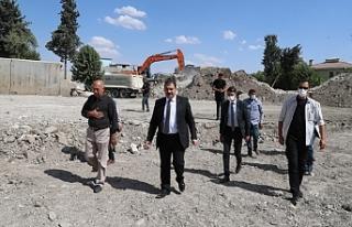 Haliliye'de projeler birbir yerine getiriliyor