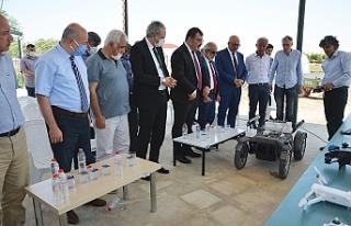 HRÜ'de yapay destekli dijital tarım projesi...