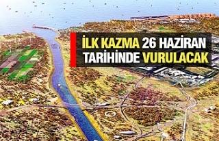 Kanal İstanbul'da Tarih Netleşti