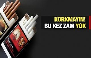 Sigarada bir değişiklik daha