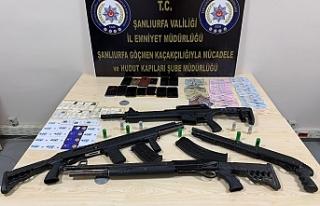 Urfa'da göçmen operasyonu! 6 kişi tutuklandı