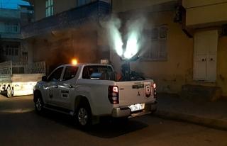 Urfa'da vektörle mücadele sürüyor