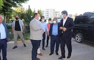 Yıldız ziyaretlerine Viranşehir'de devam etti