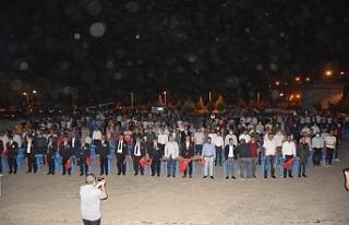 15 Temmuz anma programı Viranşehir'de de yapıldı