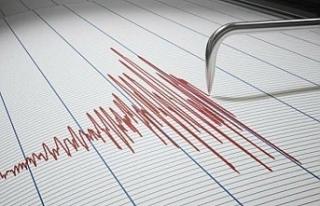 4 büyüklüğünde deprem meydana geldi