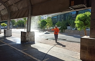 Büyükşehir temizlik çalışmalarını sürdürüyor