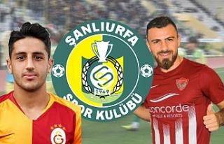 Süper Lig takımlarından 2 futbolcu Urfaspor'a...