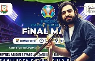 Urfa'da final maçı öncesi konser...