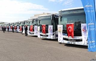 Urfa'da toplu taşıma ücretsiz olacak