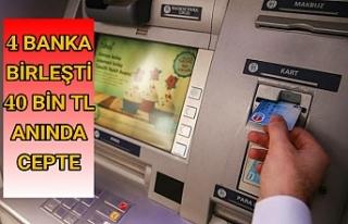 Bankamatik kartı olanlara büyük kolaylık...