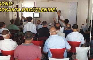 CHP Urfa'da eğitim verdi