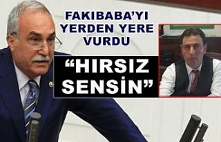 Eyyüpoğlu'ndan Fakıbaba'ya sert sözler!
