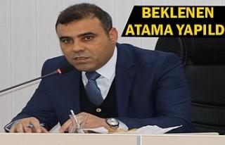 Büyükşehir'de yeni Daire Başkanı belli oldu
