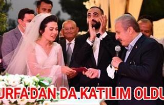 Urfa eski BŞB Başkanı Güvenç'in mutlu günü...