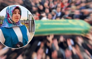 Urfa'da kadın gazetecinin acı günü!