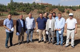 Viranşehir'e nefes aldıracak projeye başlandı