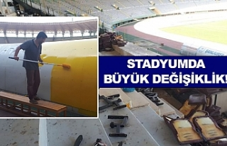 11 Nisan Stadyumu yeni yüzüne kavuştu