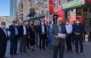 CHP'den eş zamanlı basın açıklaması!
