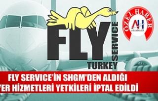 FLY servisinin SHGM'den aldığı yetkiler iptal...